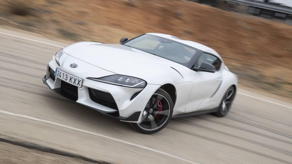 A prueba el Toyota GR Supra: leyenda deportiva viva