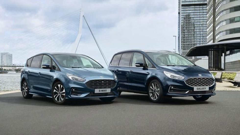 Los nuevos Ford S-Max y Galaxy Híbridos se fabricarán en Valencia (vídeo)