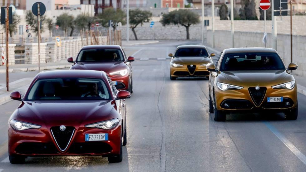 Los coches y SUV de Alfa Romeo hasta 2022: Tonale, Stelvio, un nuevo SUV pequeño…