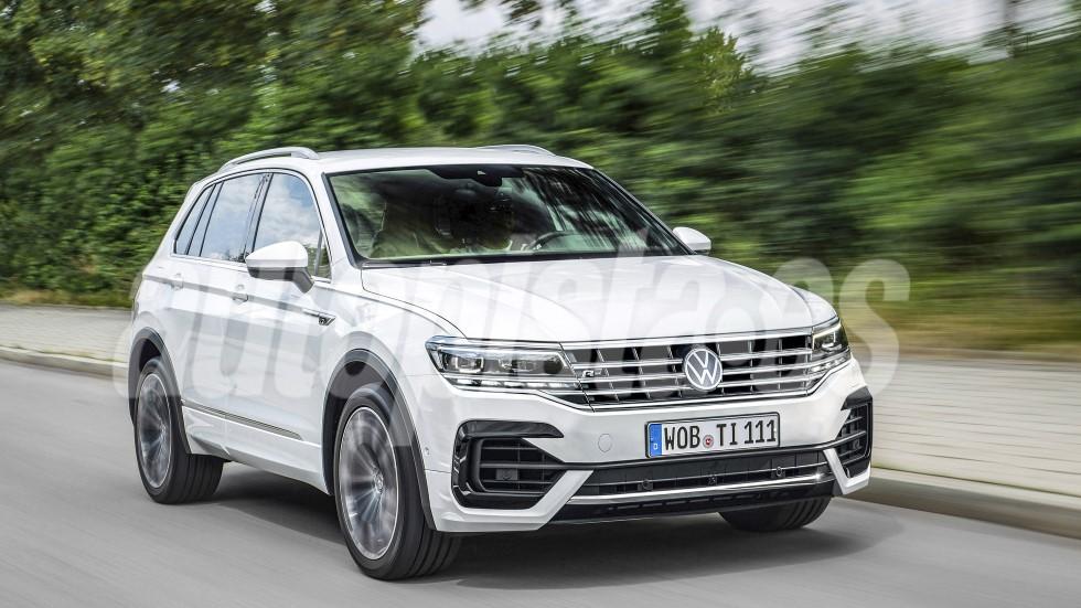 VW Tiguan 2020: el renovado SUV, con detalles del nuevo Golf 8