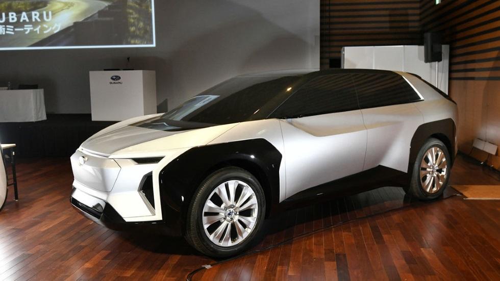 Subaru lanzará un SUV eléctrico desarrollado con Toyota y aquí está su primera visión