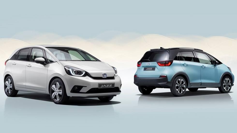 El Honda Jazz 2020 llegará este verano: híbrido y con nueva versión Crosstar