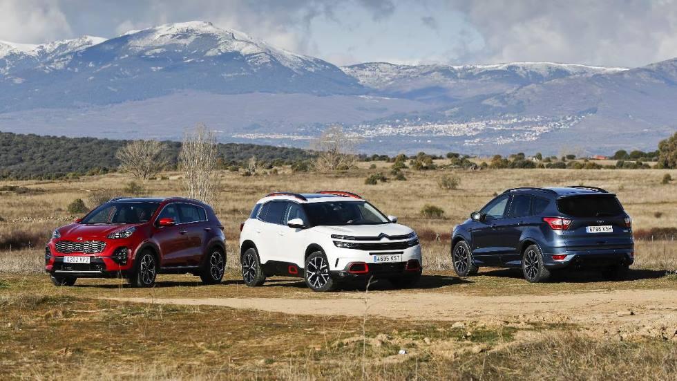 El predominio de la gasolina y de los SUV hace subir las emisiones medias de CO2