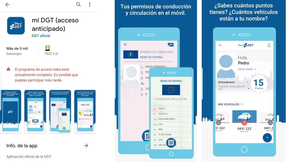 La nueva app de la DGT, ya disponible para llevar tu carné… ¡pero con acceso completo!