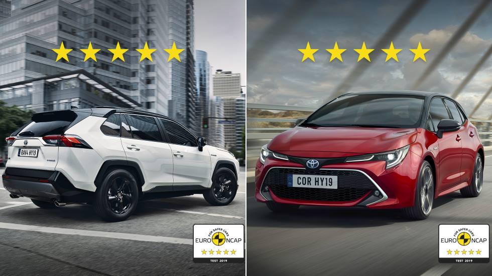 Más eficientes y también más seguros: los últimos test de Euro NCAP a los coches híbridos