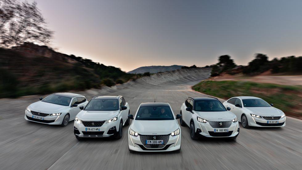 Todos los coches eléctricos de Peugeot: nuevos 208, 3008 y 508 con etiqueta CERO