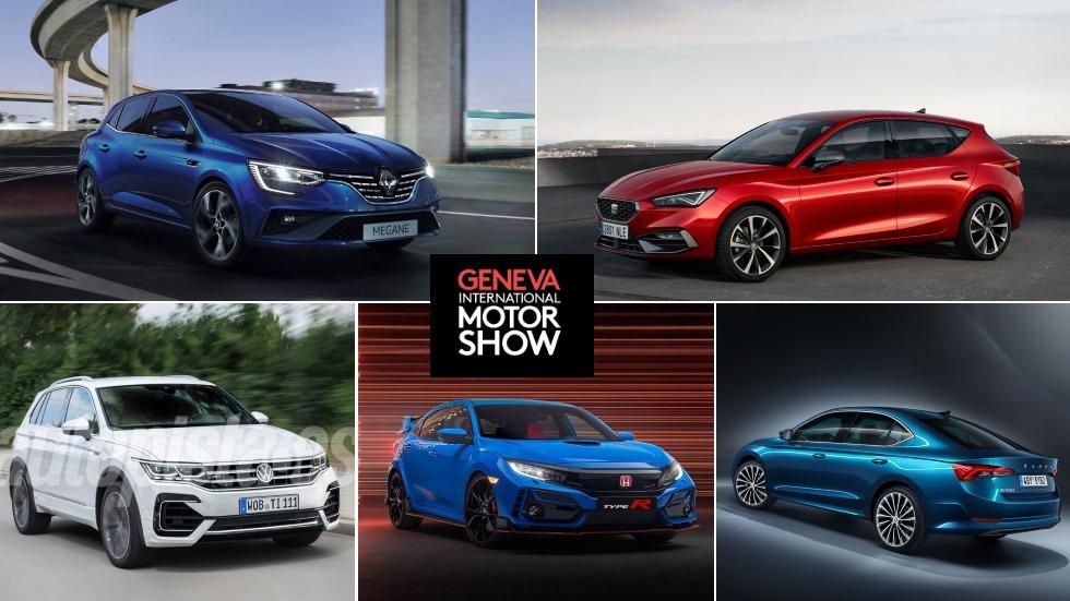 Salón de Ginebra 2020: todas las novedades de coches que se presentan