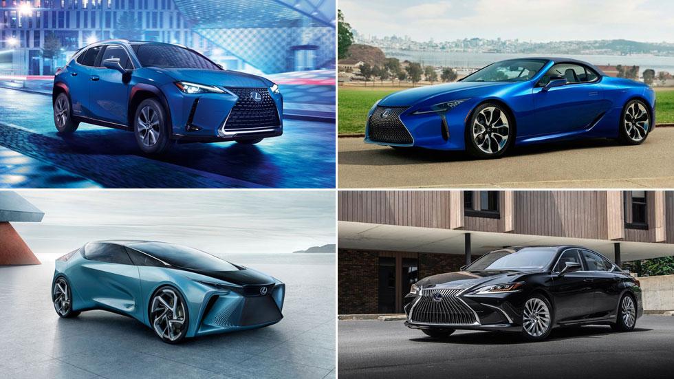 Lexus presenta en el Salón de Ginebra 2020 dos nuevos modelos y un prototipo
