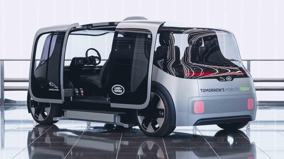 Project Vector: así es la movilidad urbana del futuro de Jaguar y Land Rover