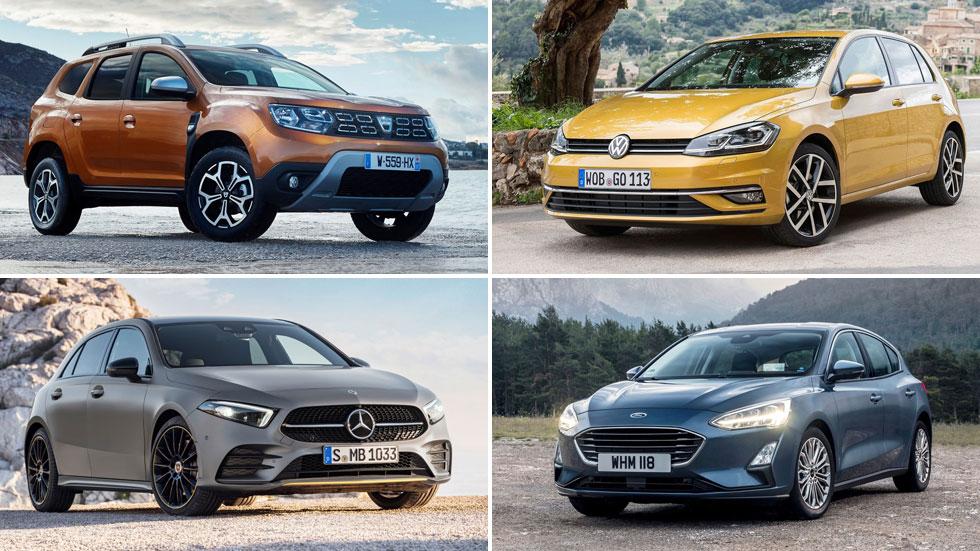 Ránking: los 25 coches y las 25 marcas con más ventas en Europa en todo 2019