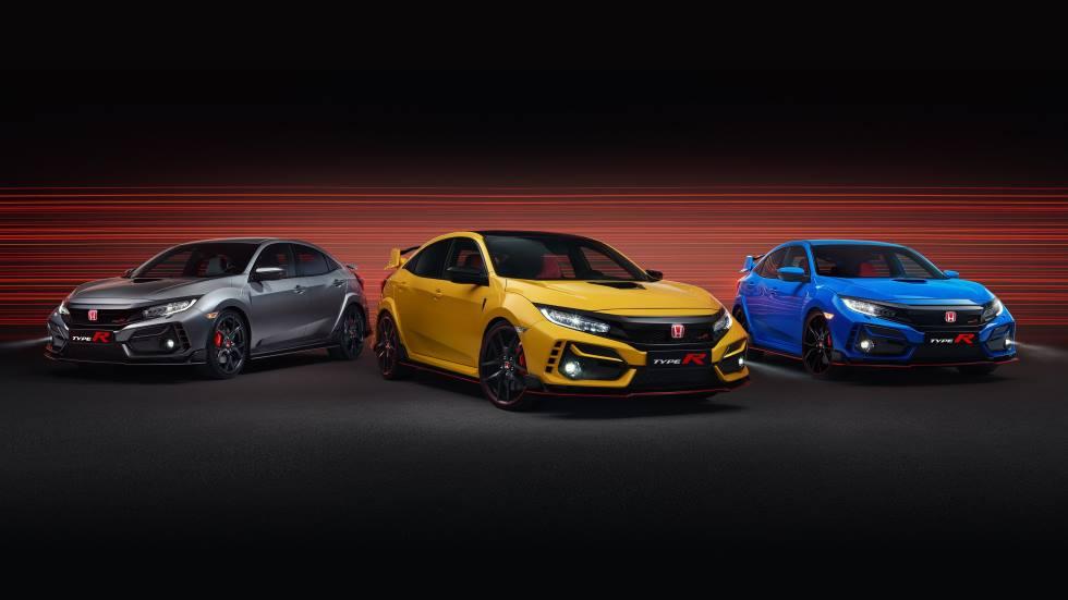 Honda Civic Type R Sport Line y Limited Edition 2020: fotos y datos de los nuevos deportivos