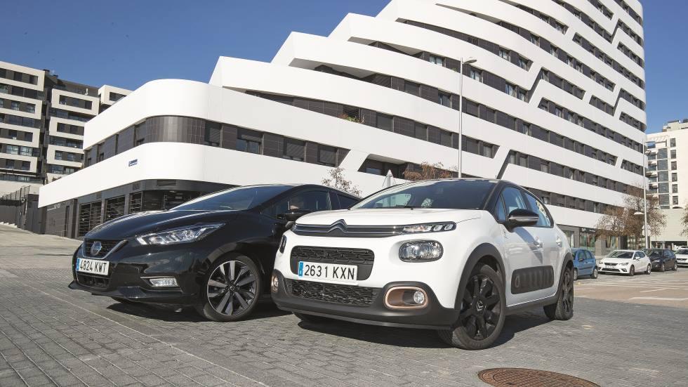 Citroën C3 vs Nissan Micra: qué utilitario de gasolina es mejor