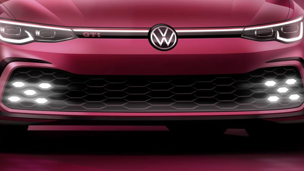 Oficial: el VW Golf GTI 2020 se presenta en marzo y ésta es su primera foto