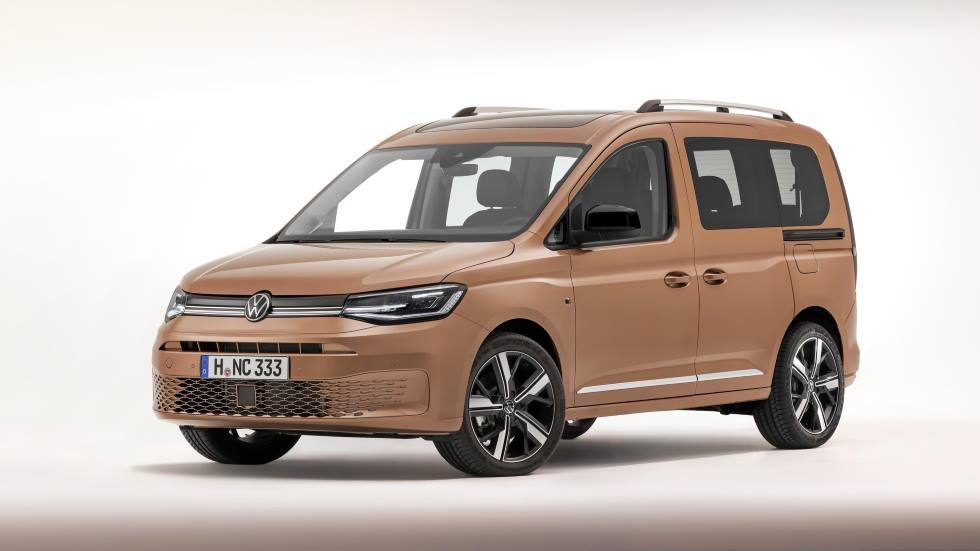 VW Caddy 2021: todos los datos y fotos oficiales del nuevo familiar