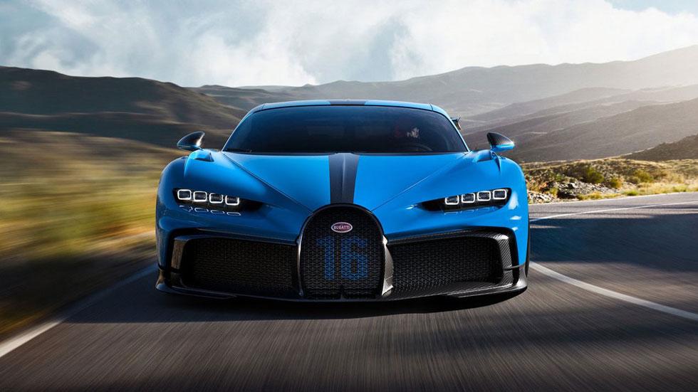 Bugatti Chiron Pur Sport, menos rápido pero mucho más dinámico