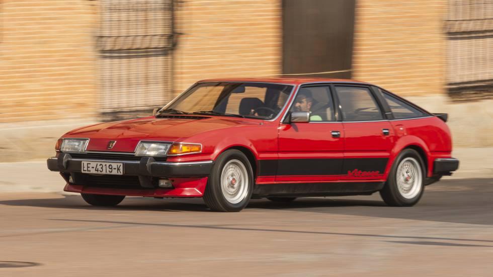 Rover Vitesse: la berlina deportiva británica de gran carácter