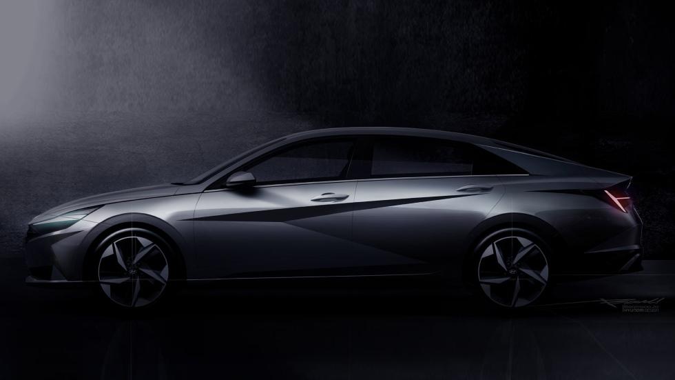 Hyundai Elantra 2021: primeros datos y fotos de la nueva berlina, más espectacular