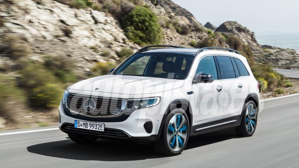 Mercedes EQB: todos los secretos y nuevas ilustraciones del próximo SUV