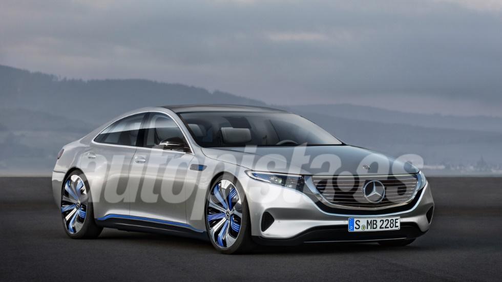 Mercedes EQE 2021: todos los secretos de la berlina eléctrica, con 600 km de autonomía