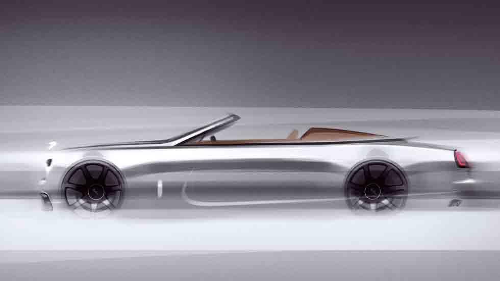 Rolls-Royce Dawn Silver Bullet Collection: exclusividad y lujo casi infinitos