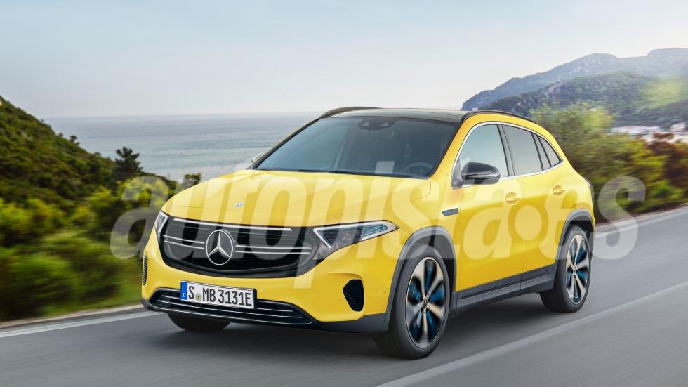 Mercedes EQA 2020: todos los secretos del próximo SUV eléctrico
