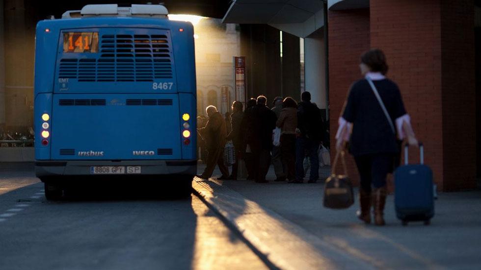 Cómo protegerte del coronavirus en transporte público