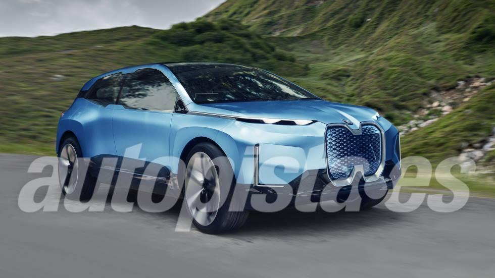 BMW iX 2021: todos los secretos del próximo SUV eléctrico