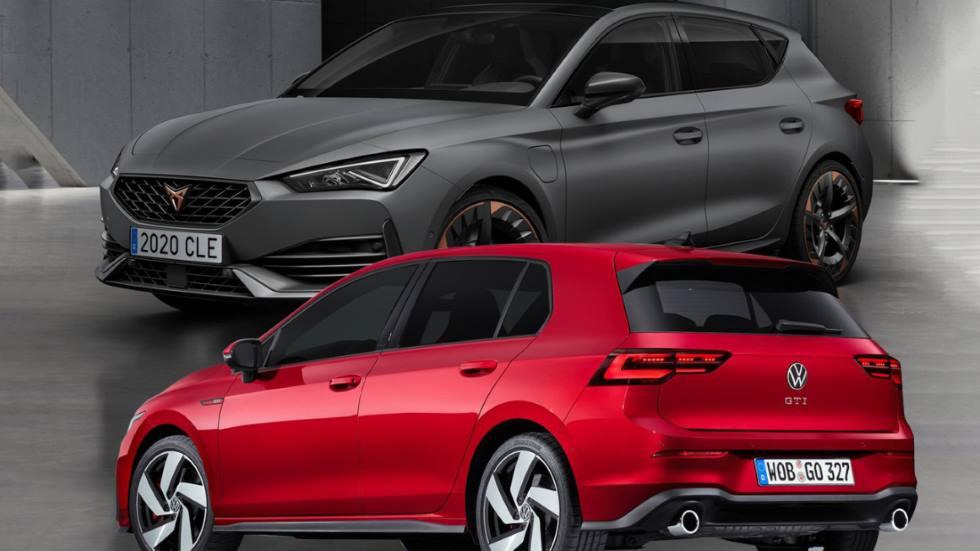 Nuevos Cupra León y VW Golf 8 GTi, ¿qué deportivo es mejor?