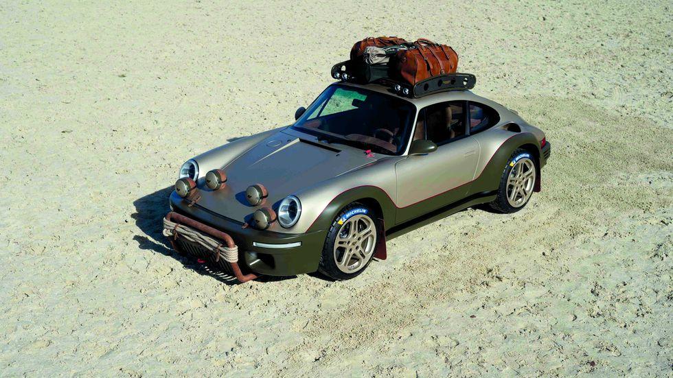 Ruf Rodeo concepto, un 911 4x4 digno del Dakar