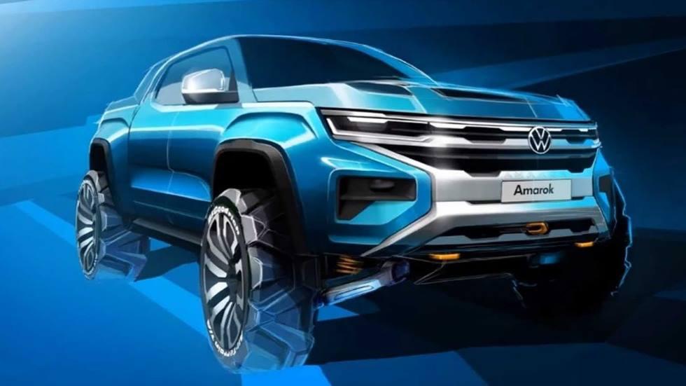 Volkswagen Amarok 2022: así es la nueva pick-up, basada en el Ford Ranger