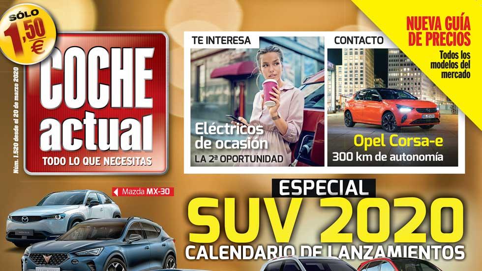 La revista COCHE ACTUAL (nº 1520) ya está en tu kiosco por sólo 1,5 euros