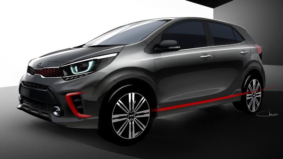 Kia Picanto 2021: así se actualizará el coche urbano