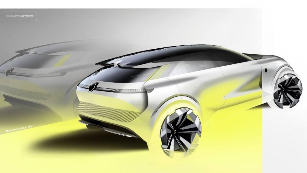 Renault prepara un nuevo SUV urbano para 2021 con una base muy mejorada del Zoe