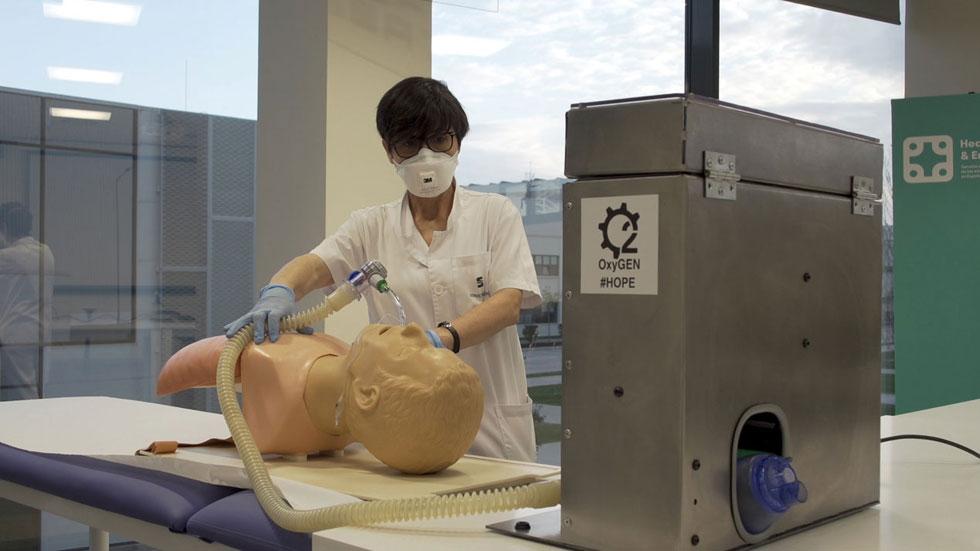 Seat ya fabrica en pruebas respiradores para la lucha contra el coronavirus