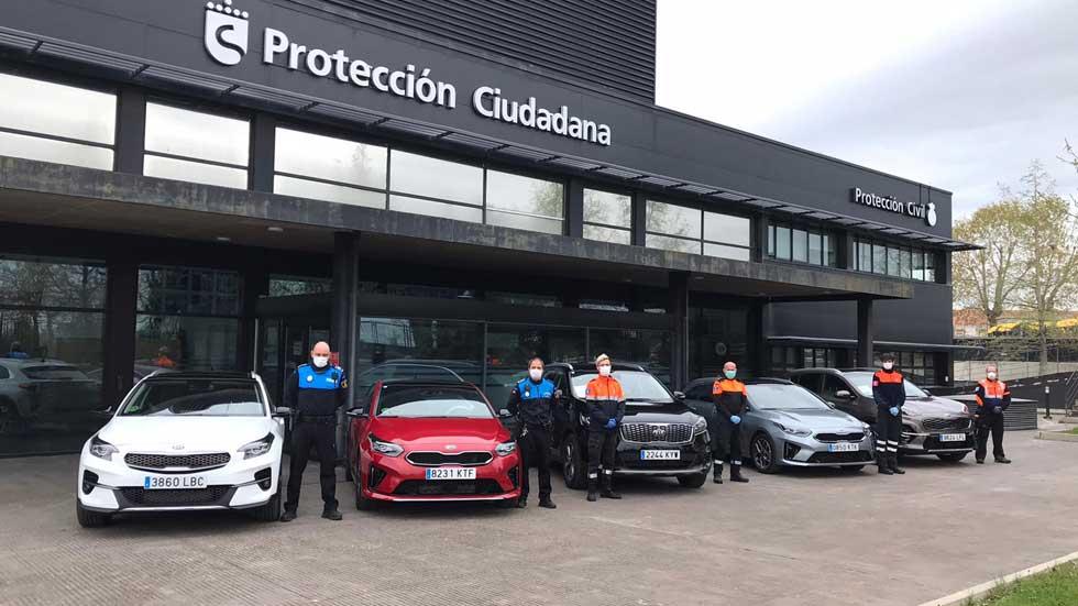 Kia cede sus coches corporativos al personal sanitario español