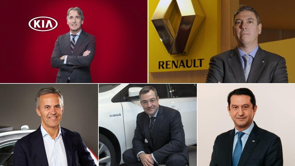 Españoles que triunfan en el mundo de la automoción: nuestro repóquer de ases
