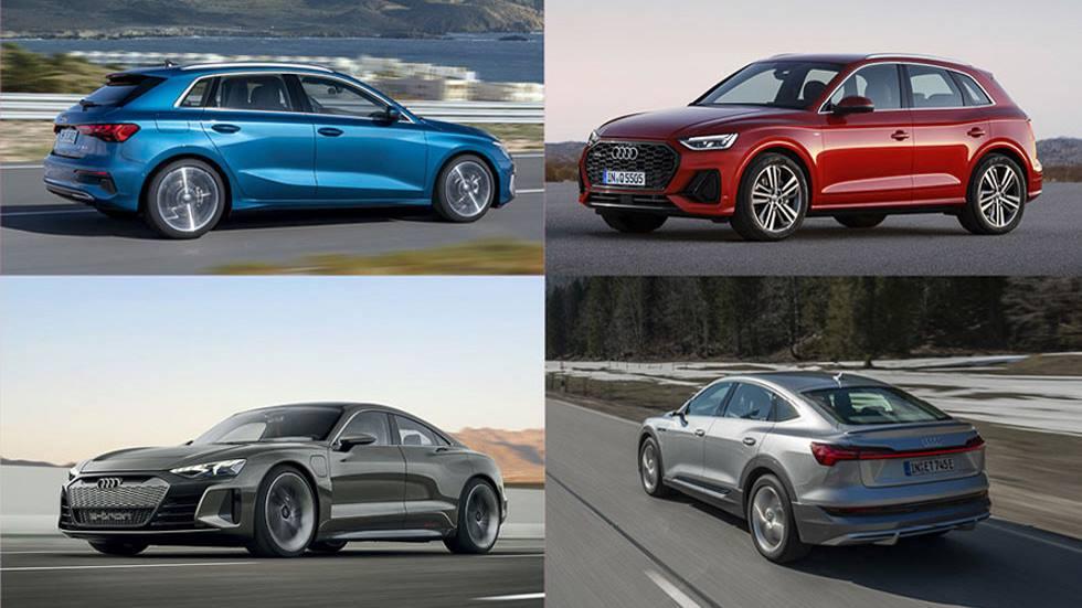 Todos los Audi que  faltan por llegar en 2020: A3, Q5, Q2, e-tron GT