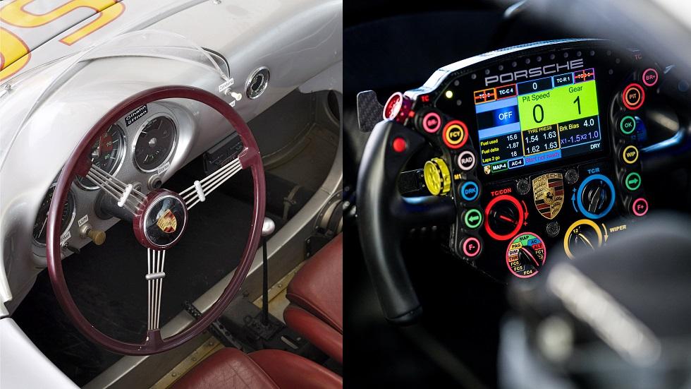 Así han evolucionado los volantes de los deportivos de Porsche en las últimas décadas