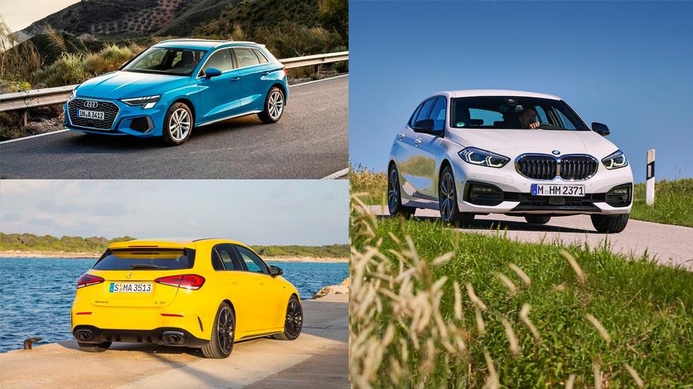 Nuevo Audi A3 2020 frente a BMW Serie 1 y Mercedes Clase A: ¿qué compacto premium es mejor?