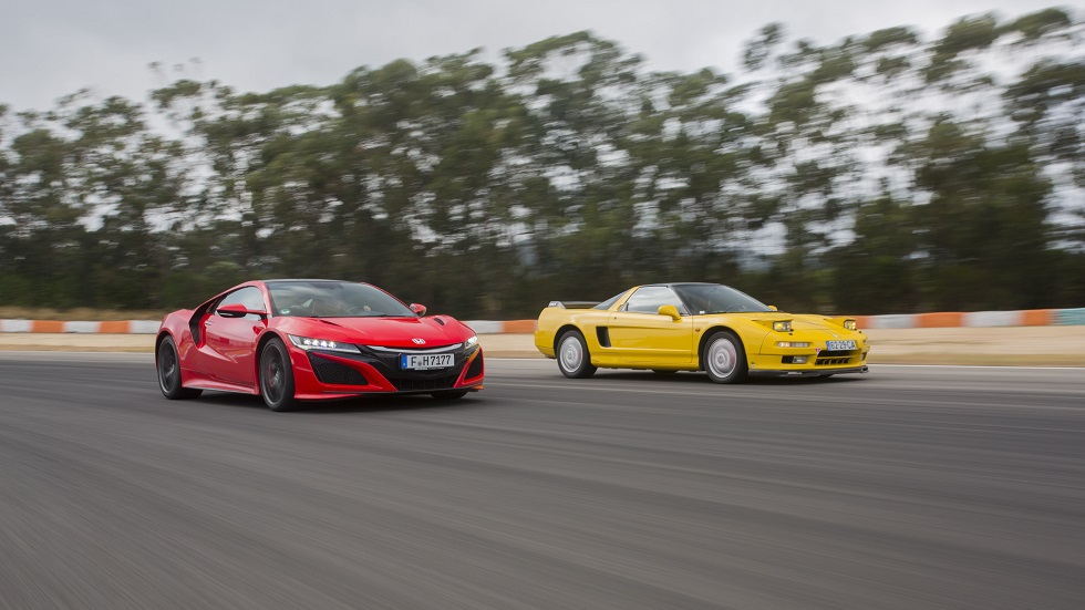 "Honda NSX ""clásico"" frente a NSX del siglo XXI: diferencias y similitudes"