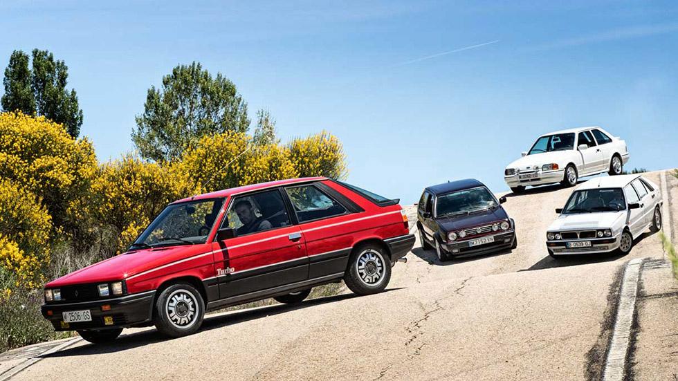 Dossier Turbos: Ford Escort RS Turbo, Lancia Delta HF Turbo, Renault 11 Turbo y VW Golf GTI G60
