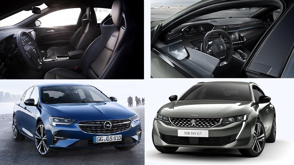 Opel Insignia 2020 vs Peugeot 508: los puntos a favor y en contra de cada berlina