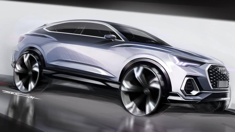 Audi Q5 Sportback 2020: última hora del nuevo SUV coupé deportivo