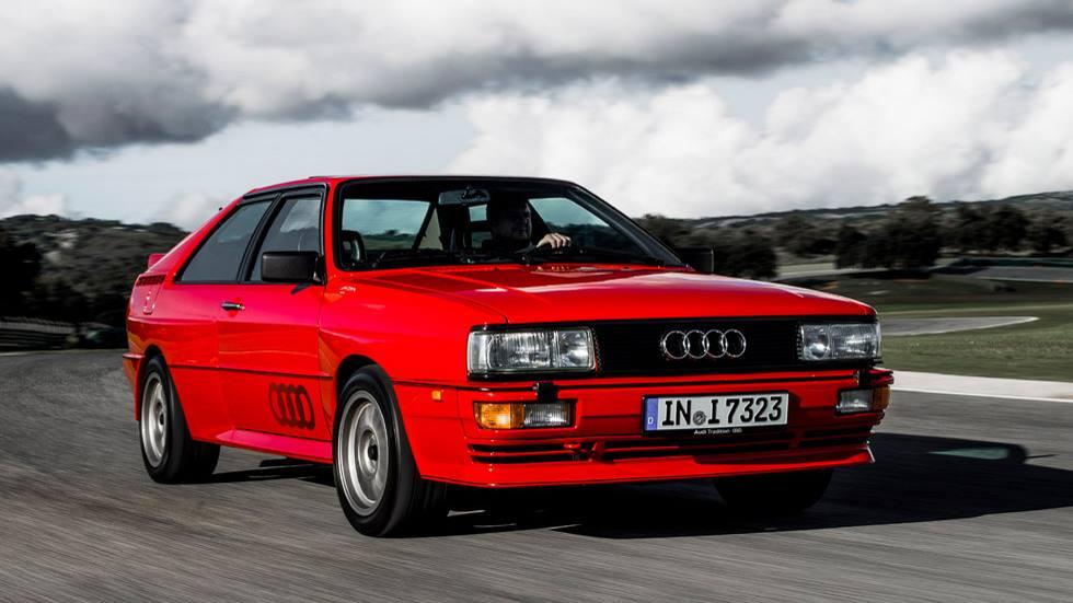 Audi quattro: un coche de leyenda que cambió a Audi
