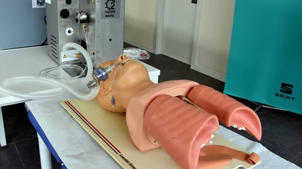 Así está fabricando Seat los respiradores para los afectados por coronavirus (galería de fotos)