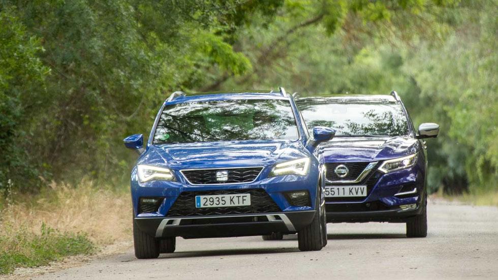 Las increíbles ofertas de los nuevos SUV Seat Ateca y Nissan Qashqai, ¡desde 18.500 euros!