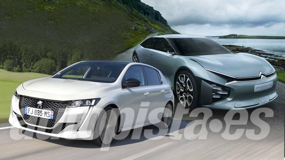 Citroën C4 2020 y Peugeot 308 2021: así serán las nuevas generaciones de los compactos franceses