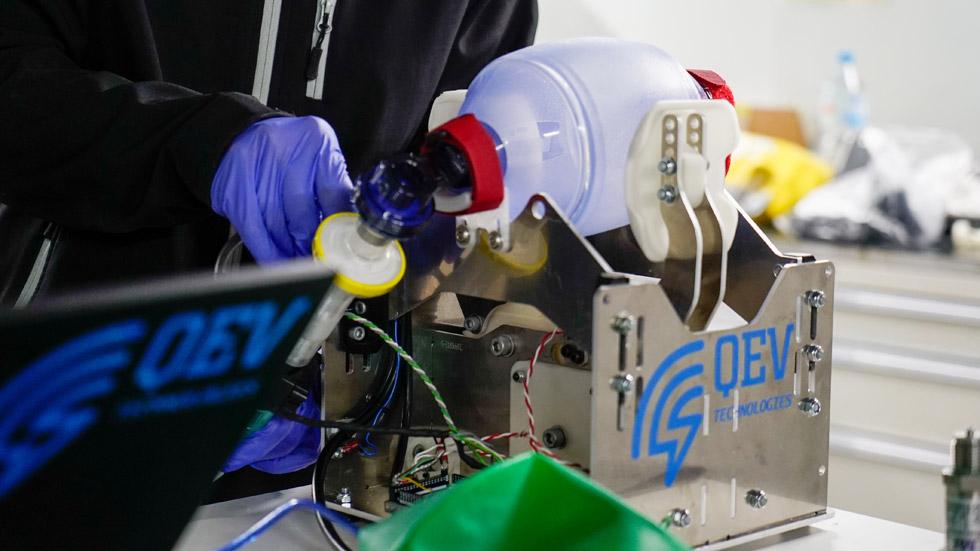 Nissan Barcelona fabricará hasta 180 respiradores al día