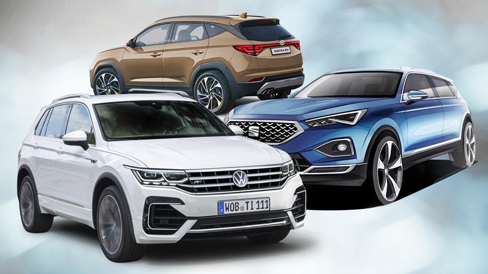 Hyundai Tucson, Seat Ateca y VW Tiguan: así se renuevan los SUV en este 2020, ¿cuál será mejor?