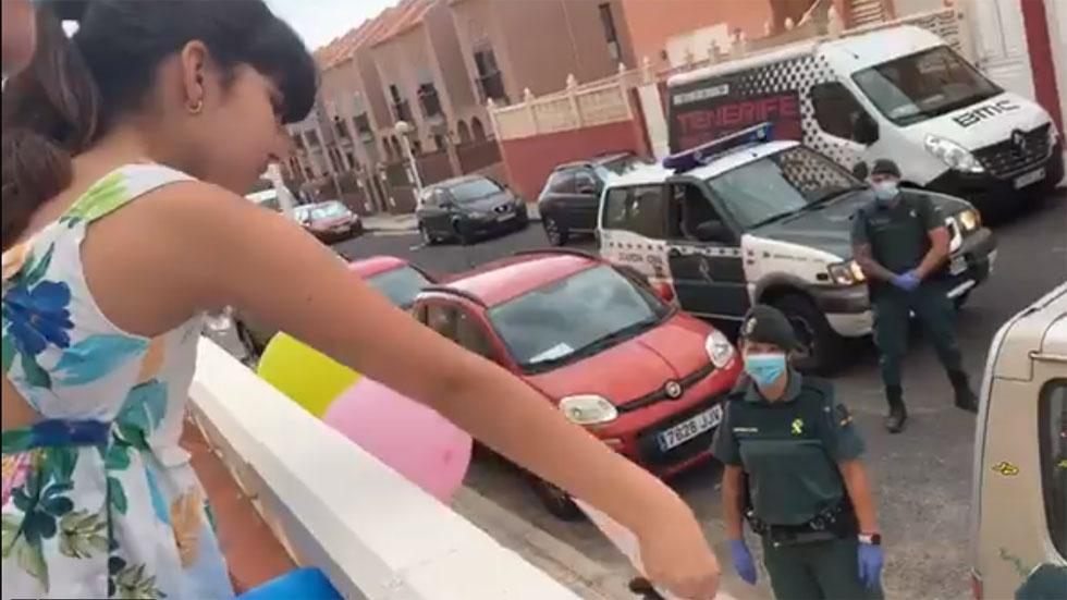 El bonito gesto de la Guardia Civil a una niña que superó un trasplante de médula